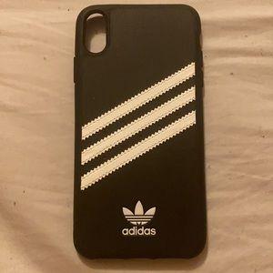 New black/white stripes Adidas IPhone 8 Plus case